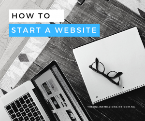 Read more about the article How to Start a Website