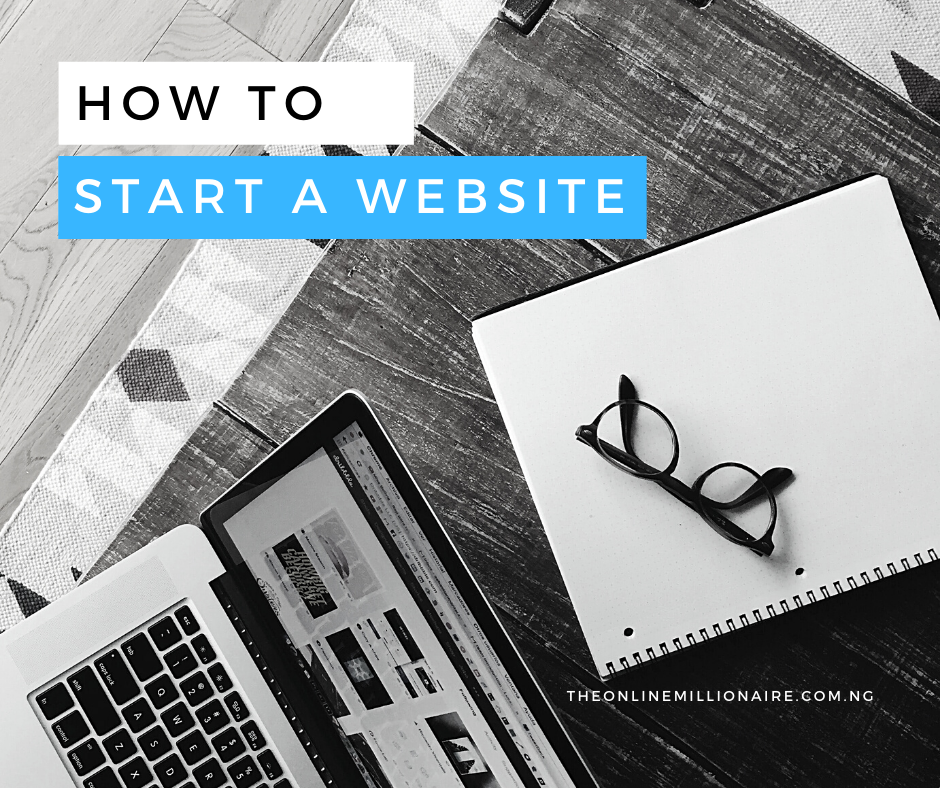 How to Start a Website