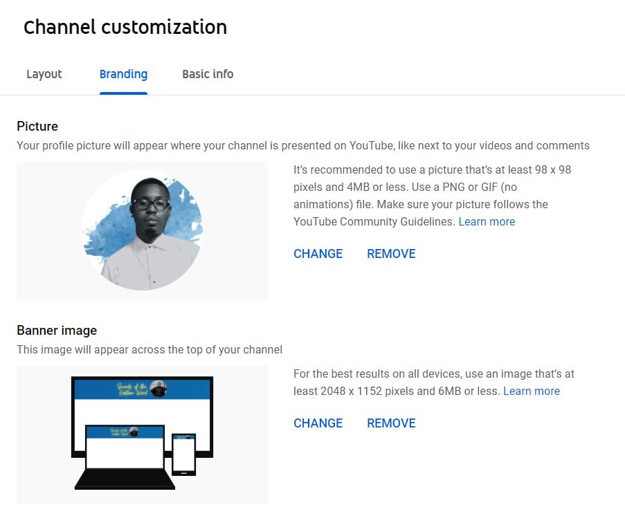 How to brand your YouTube channel