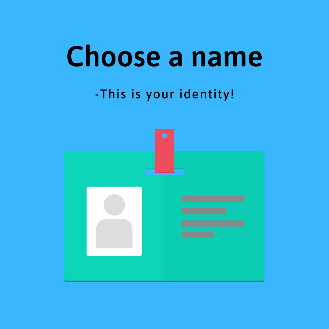 7 Industry Proven Steps to Make Money Online- 2. Choose a name