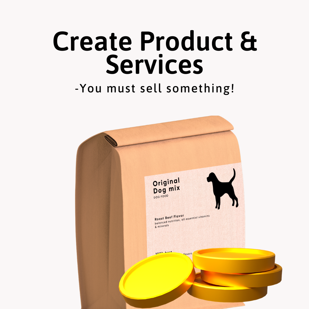7 Industry Proven Steps to Make Money Online - Create Products & Service
