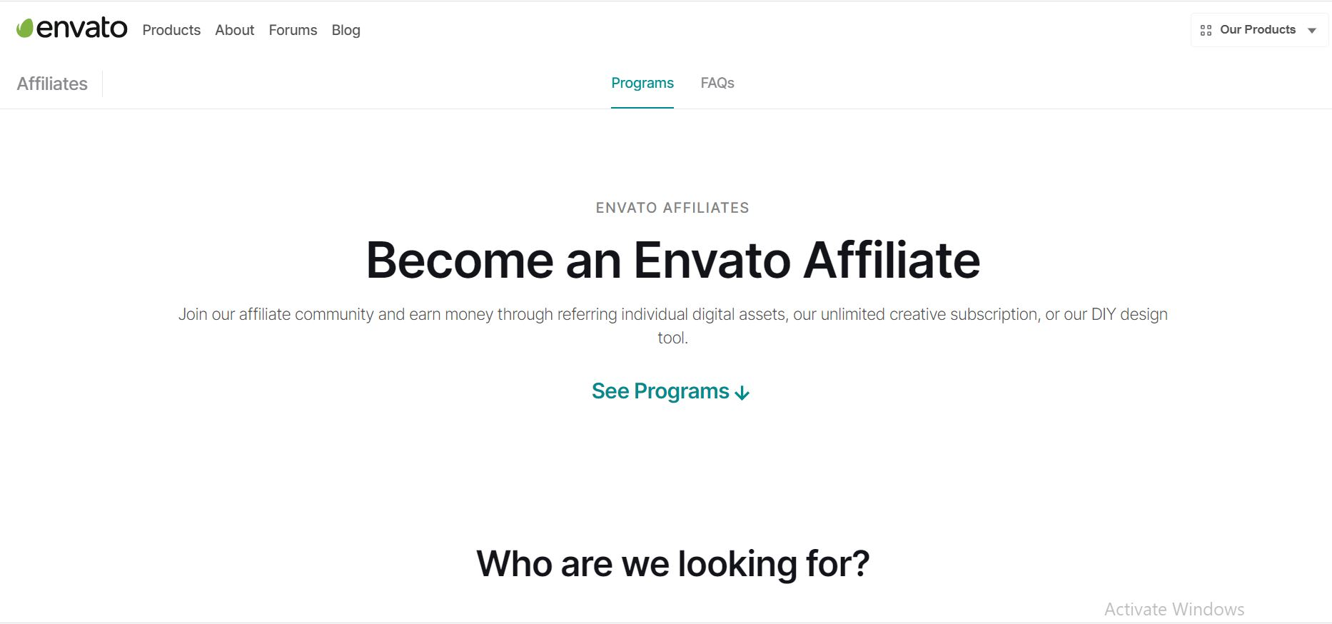 Get Started with Envato Affiliate Program
