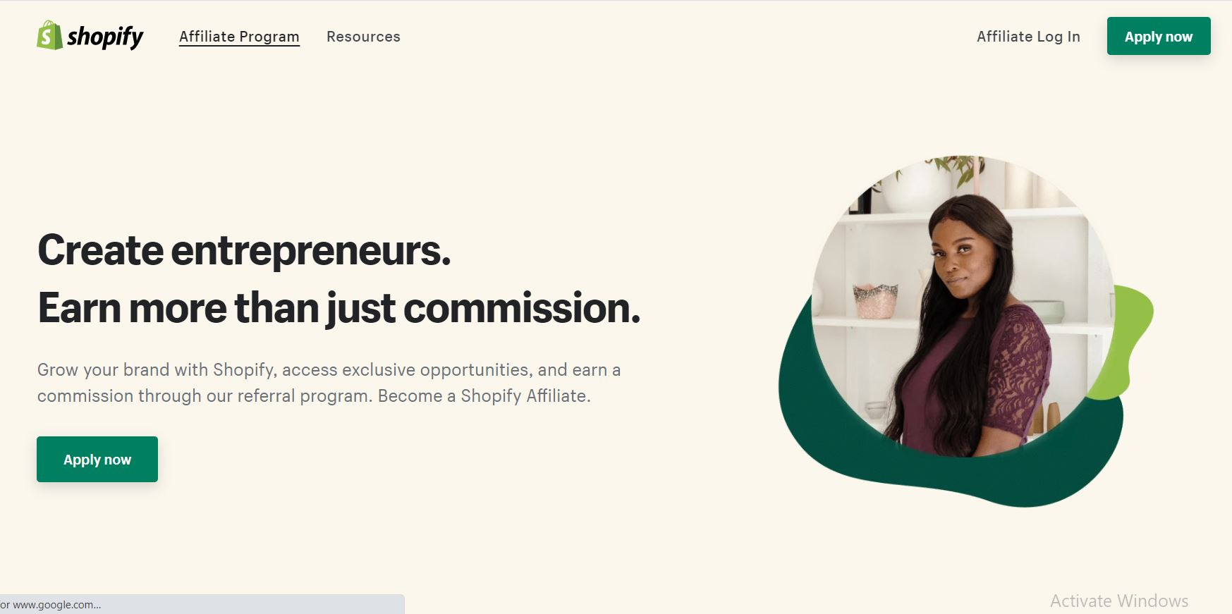 Get Started with Shopify Affiliate Program