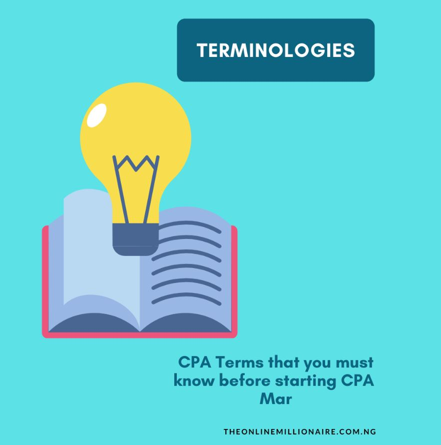 Terminologies of CPA Marketing that you must know