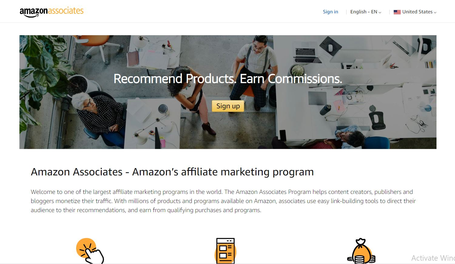 Best Affiliate Marketing Programs for Beginners- Get started Amazon