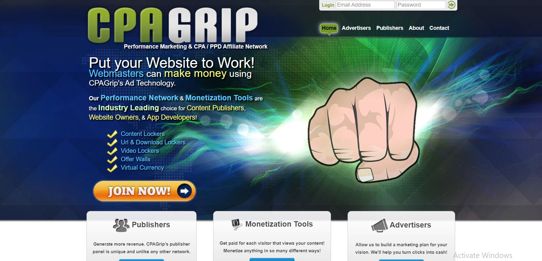 CPA Marketing #12. CPAGrip (Join for Free)