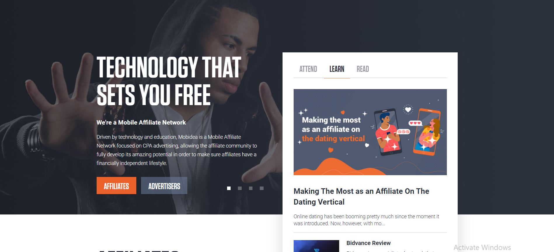 CPA Marketing Network #7. Mobidea