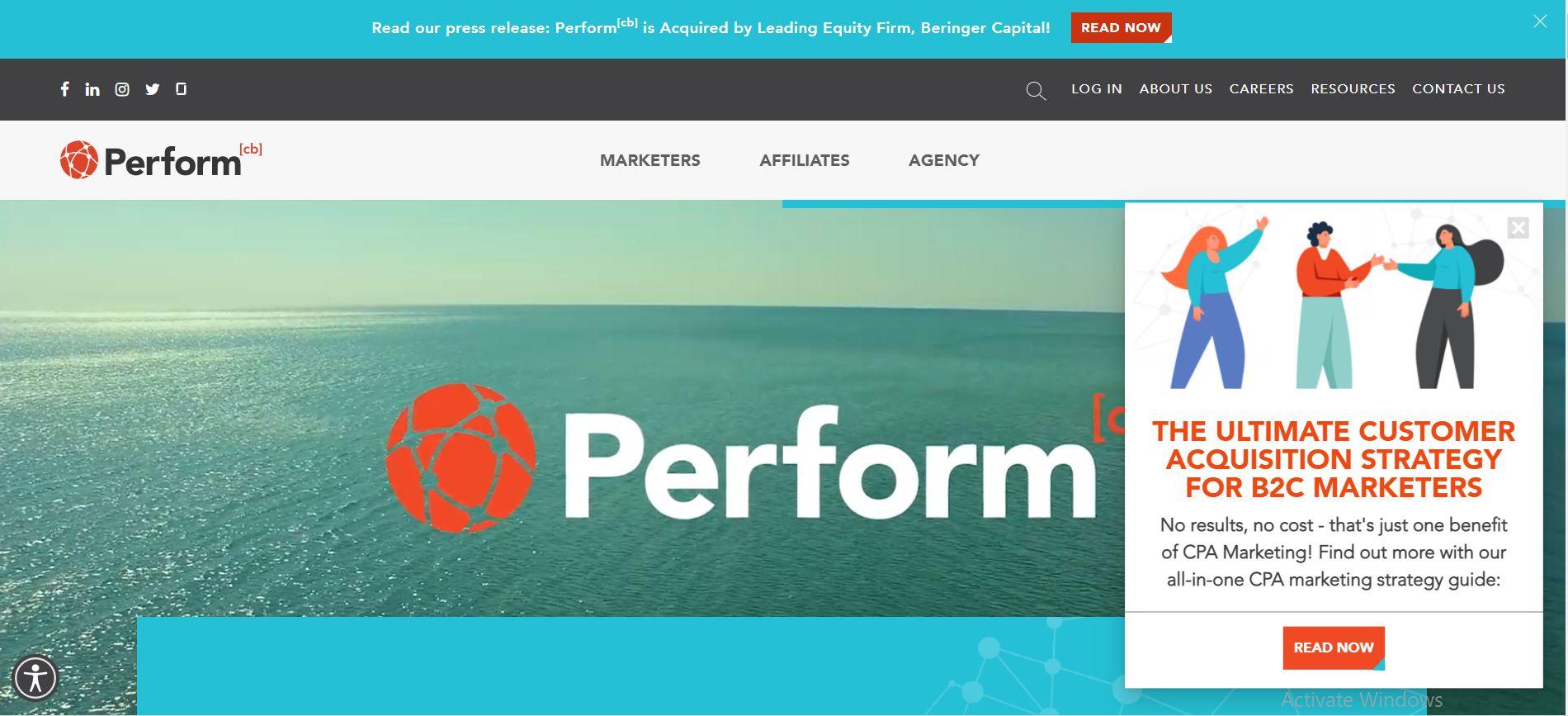 CPA Marketing Network #3. PerformCB