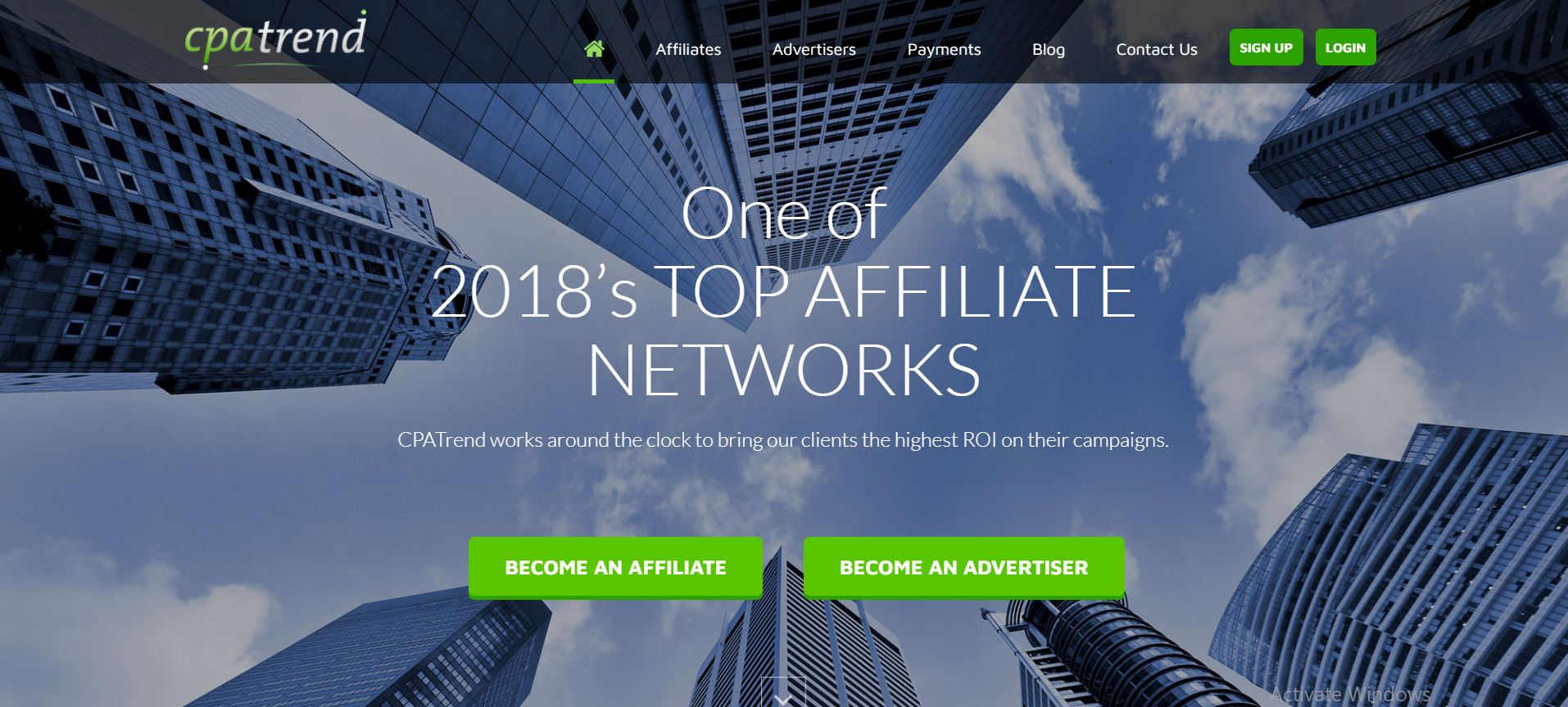 CPA Marketing Network #8. CPATrend
