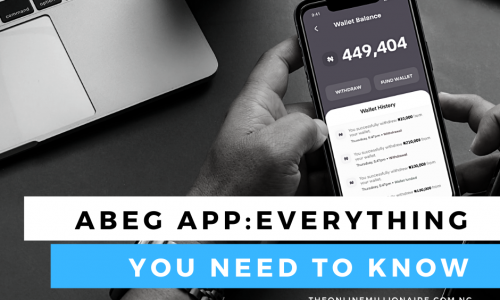 Abeg App: How to Signup and Earn Referral Bonus