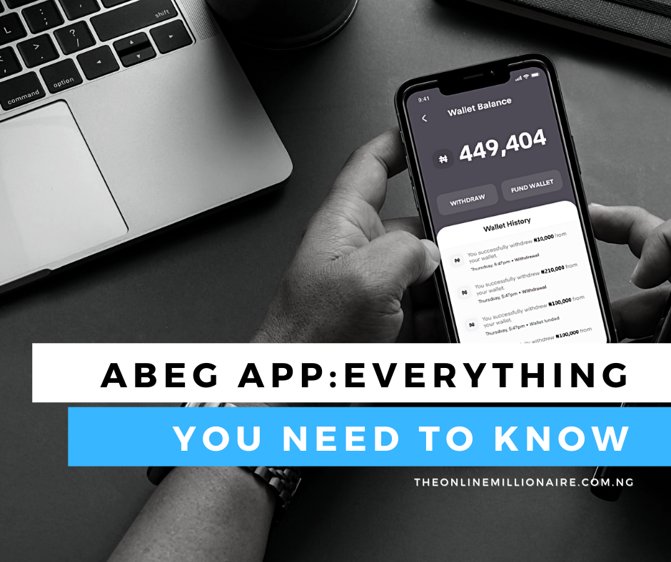 You are currently viewing Abeg App: How to Signup and Earn Referral Bonus